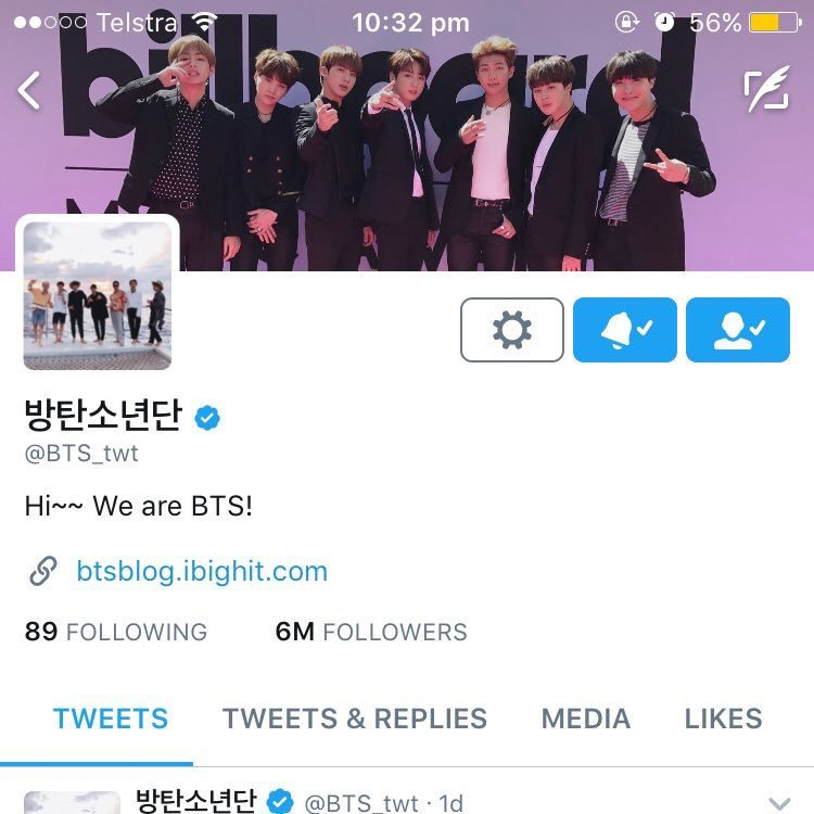 was going through my old phone and found this old screenshot i took of @BTS_twt account when they won their first BBMAs award. they changed their header after the win  <br>http://pic.twitter.com/6NzzQTPwzz