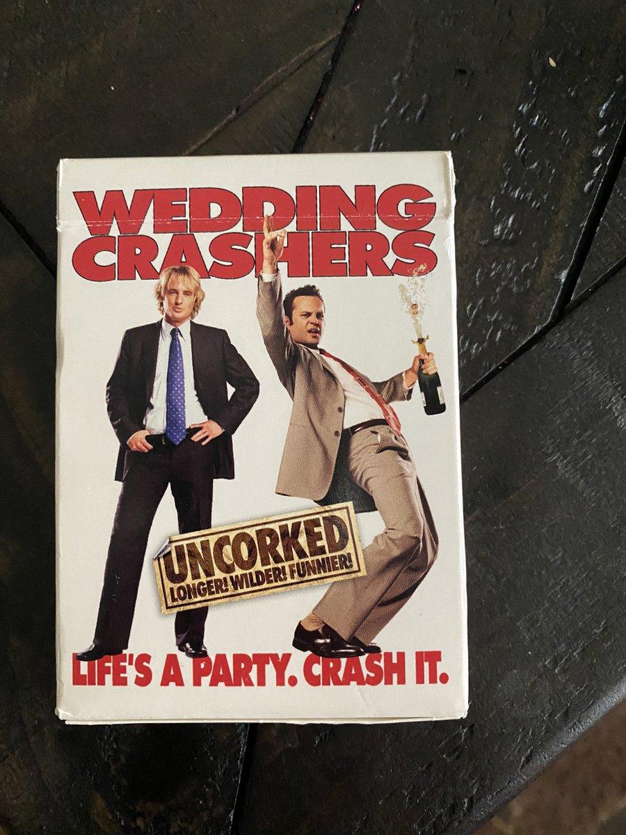 wedding crashers card game <br>http://pic.twitter.com/uIVnU5aw2F