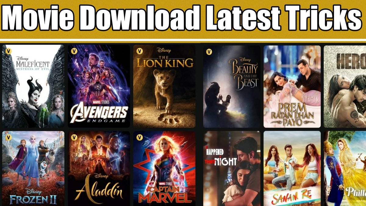 Hollywood & Bollywood Movies Download Latest Tricks || How to download M... https://youtu.be/RX4RFWXXL44 via @YouTube #movies #MovieHacks #trick #Bollywood #Hollywoodpic.twitter.com/oRCyihVXV3
