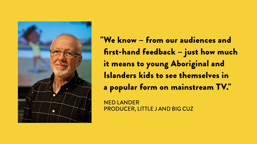 Producer Ned Lander explains how the #LittleJandBigCuz team pulled together to create a special PSA video for kids in remote communities about staying safe during the pandemic: https://t.co/oTqZtX8jLe 🧼 #COVID19Aus https://t.co/fMCoJfRpLr
