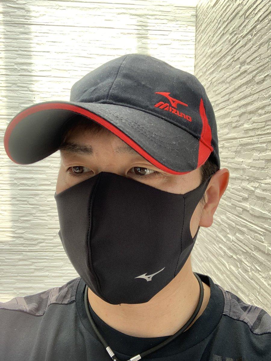 ミズノ マスク ツイッター