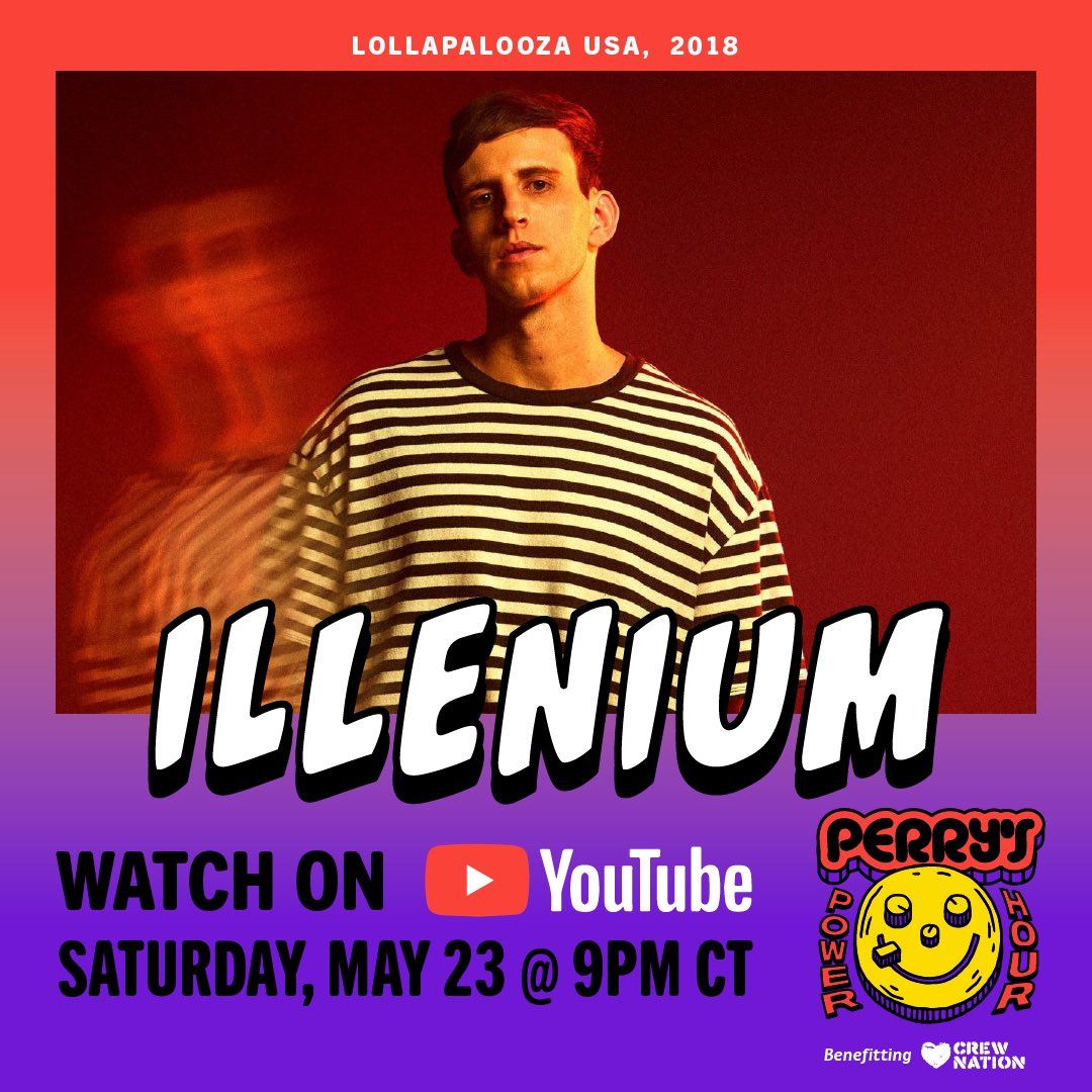 Relive my 2018 Lolla set at 9pm CT tonight 🙂 Watch → youtu.be/f2ZbsokS-0Y