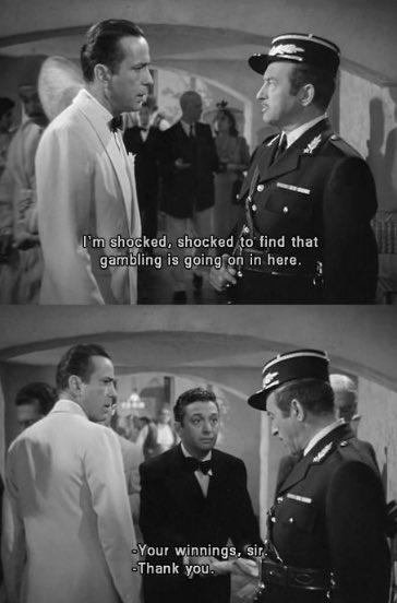 Love Claude Rains so much #Casablanca #tcmpartypic.twitter.com/eU3e0wOjL9
