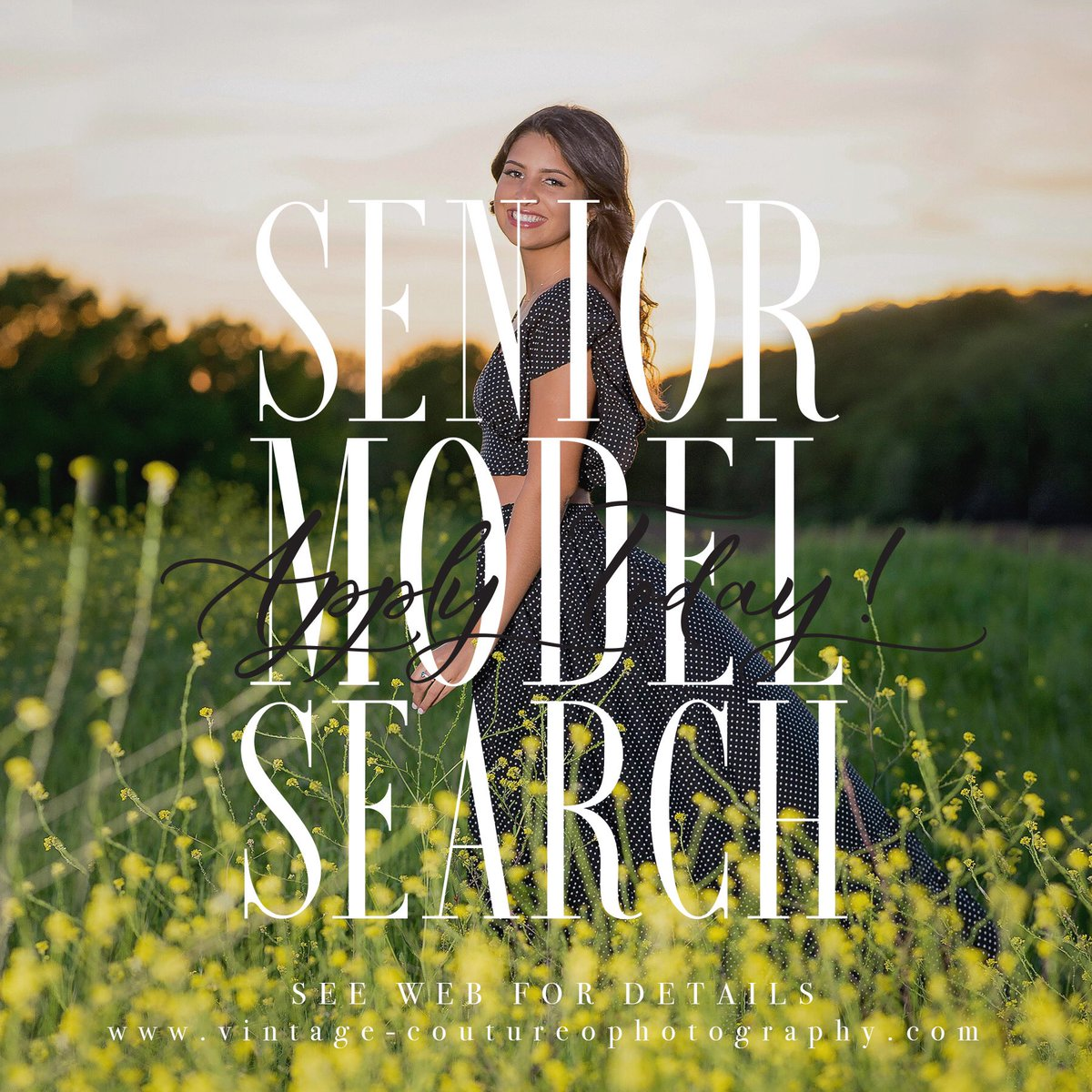 Calling Southlake and Grapevine 2021 Seniors!!   The VC team is looking for new gorgeous faces to be the next 2021 VC Ambassadors : Apply now at https://vintage-couturephotography.com/vintage-couture-ambassadors-program/ …   • • #senior #seniormodel #seniormodelsearch #modelsearch #modelcallpic.twitter.com/KuQLn7BiqP