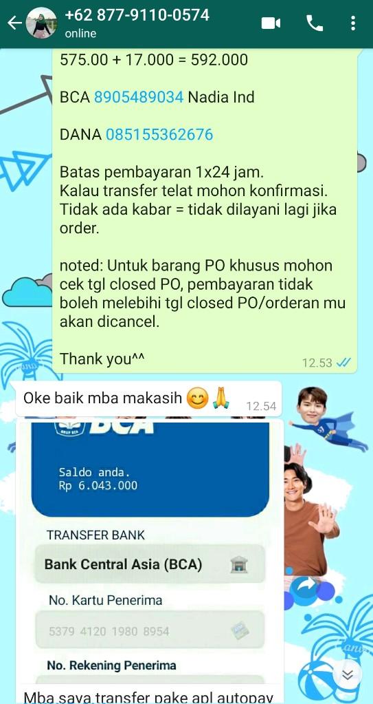 Album Kry Rp265 000 On Twitter Percobaan Penipuan Oleh Oknum