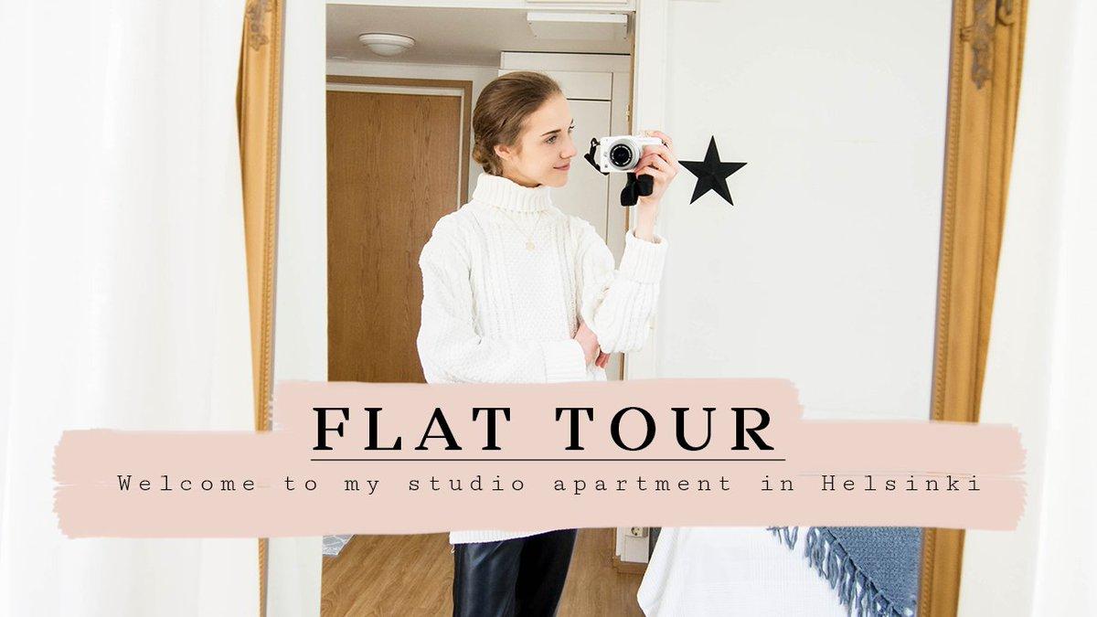 My Studio Apartment in Helsinki http://ow.ly/AzZo50zMlsA #fbloggers #fashionbloggers #fblchat @FemaleBloggerRT #lbloggers #BloggingGals #smallyoutuberpic.twitter.com/2nr8lDdmKW