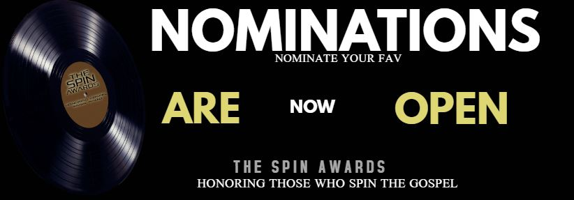 @KNMGRadio  #TheSpinAwards Honors those who spin the Gospel #NoFees #Nominations  CLOSE 05/27 http://thespinawards.com/nominations #4thYear #!stAndOnly To Strictly honor gospel spinners BIGGEST NIGHT IN CHRISTIAN GOSPEL RADIOpic.twitter.com/93kSGYWFcu