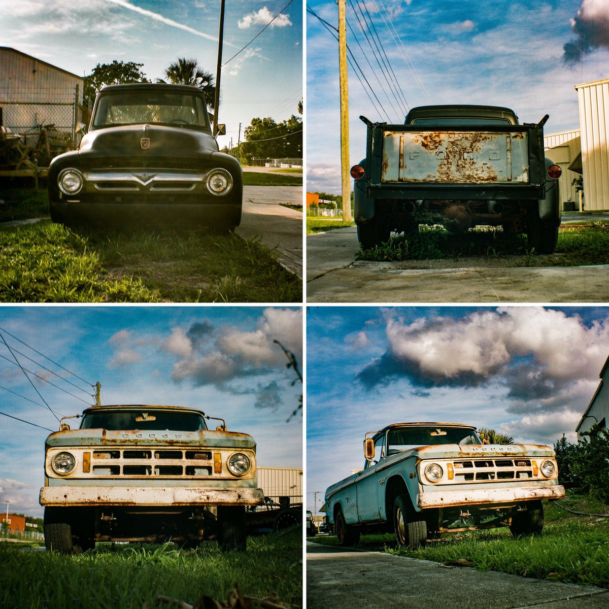 Here's some Results with the old 1953 Kodak Brownie Hawkeye camera I used for the first time. Portra 400. #oldtrucks #oldcamera #film #filmcamera #portra400 #justgoshoot pic.twitter.com/ZCyd0rY9dV