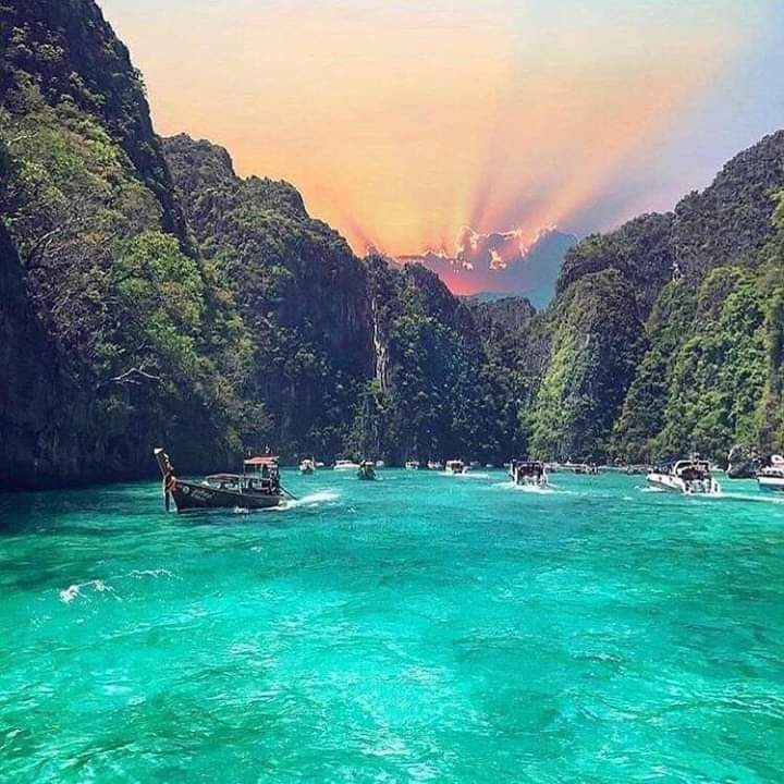 Phi Phi Islands in Thailand  #Thailand pic.twitter.com/ZIm3oCCAL1
