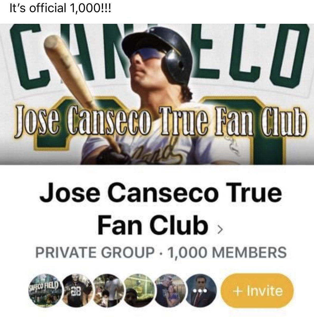 Jose Canseco (@JoseCanseco) on Twitter photo 24/05/2020 03:02:45