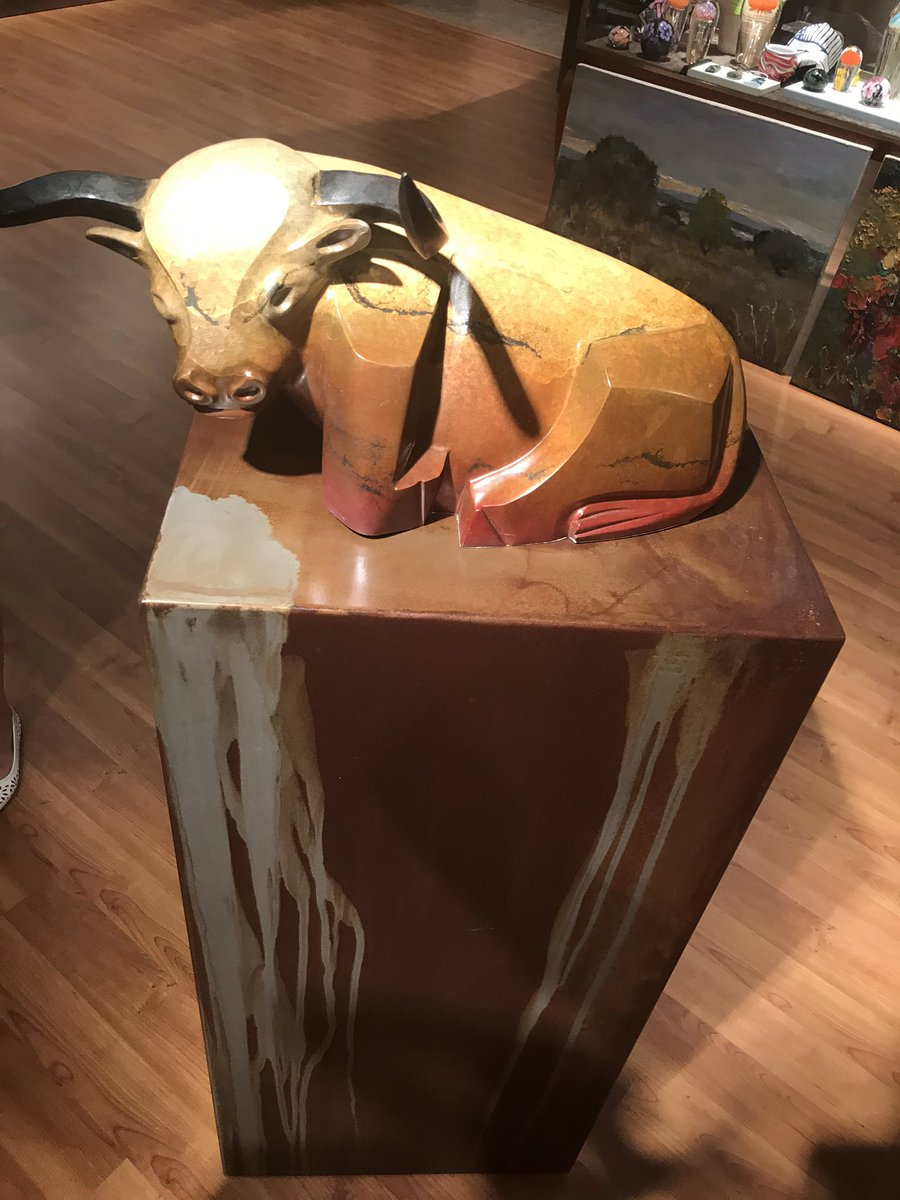 Came across this #goldencalf at a museum today in St. Augustine.   I immediately thought of Exodus 32 and agreed with God that we are certainly a stiff neck people