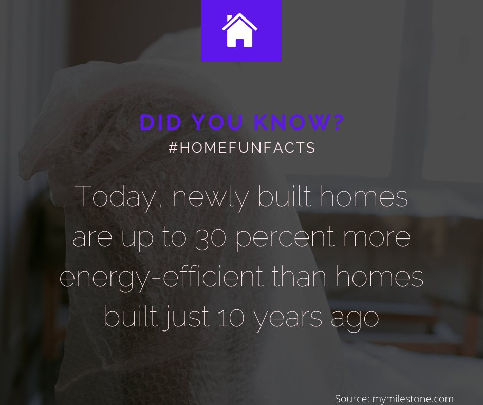 Today, newly built home are 30% more energy efficient then the home built 10 years ago.    #fact #facts #didyouknow #factz #knowledge #factsdaily #amazingfacts #instafacts #interestingfacts #knowledgeispower #india #funfacts #wallpaper #home #house #lovepic.twitter.com/sQH72k5TOr