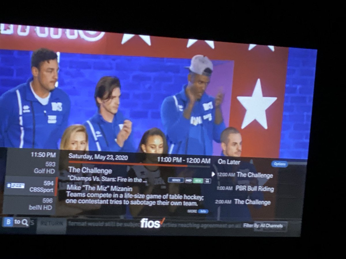 @NoQuittersPod @JJFromTheBronx @CaptainCons @TheClemReport did anyone know The Challenge: Champs vs Stars is on CBS Sport? pic.twitter.com/jeI8BJ68pS