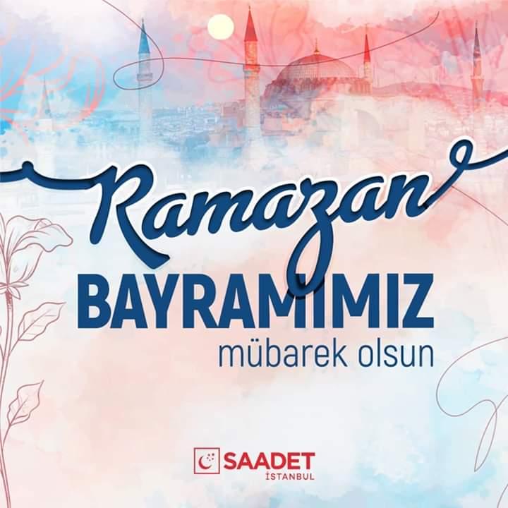 Sabır ayının sonunda kavuştuğumuz Ramazan Bayramı'nı kutlar, başta ülkemiz ve İslam dünyası olmak üzere tüm insanlık için hayırlara vesile olmasını dileriz. https://t.co/0yQVTTxnne