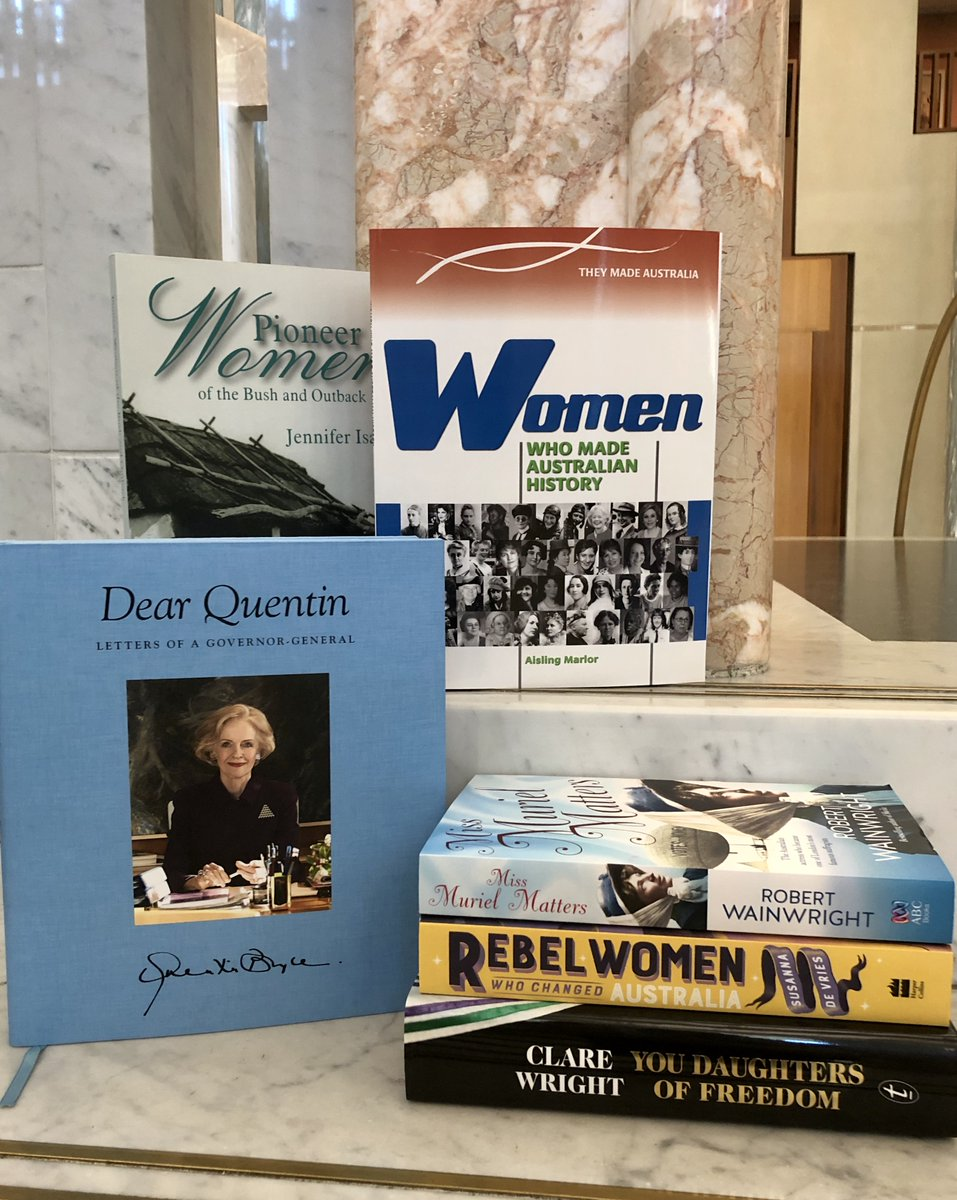 So many women have played a pivotal role in our nation's history. Read inspiring stories of early pioneers, suffragettes and the women in politics today in a great selection of titles available from The Parliament Shop. Postage available. Email ParliamentShop@aph.gov.au