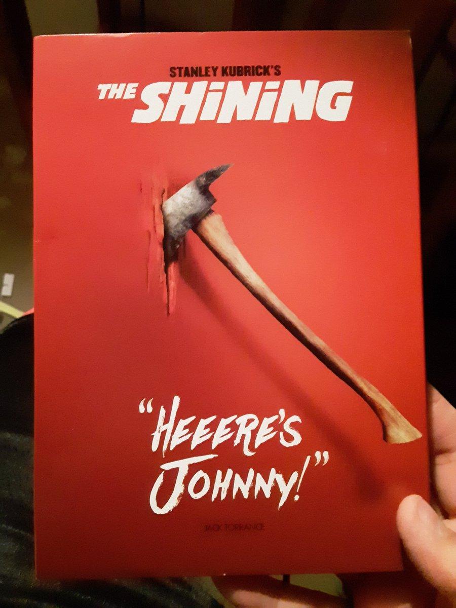 Happy 40th Anniversary to The Shining!! #theshining #StanleyKubrick pic.twitter.com/o3JTqnU4mk