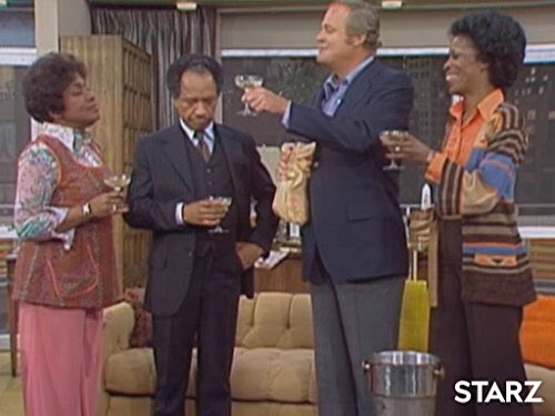 """3084. #TheJeffersons """"Movin' on Down"""" - We finally get to see their bedroom, it's not quite as yellow as the rest of the house. Florence is here too, it's amazing how rare her appearances have been so far. Cute bottle ep. (B) <br>http://pic.twitter.com/I4WClVmoKn"""