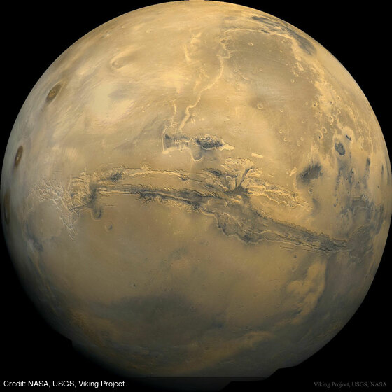 Valles Marineris: The Grand Canyon of Mars: https://t.co/jZPFKLPVDD by @NASA, @USGS, Viking Project https://t.co/nVijOAcvo2