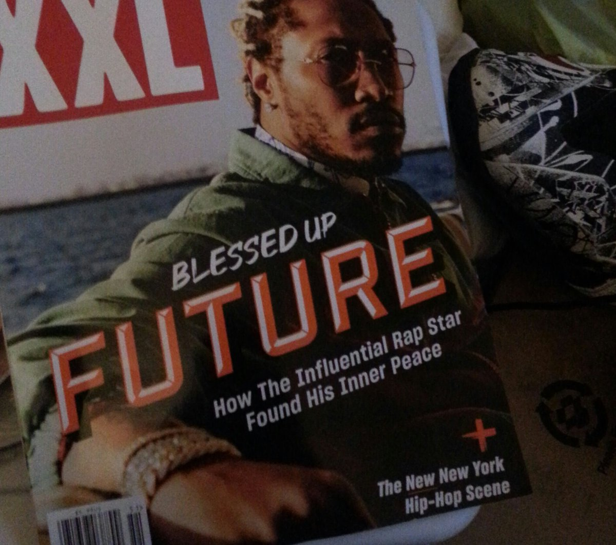 I haven't seen an #XXL magazine in so long! I had to buy it!! pic.twitter.com/xguqU1f1OZ