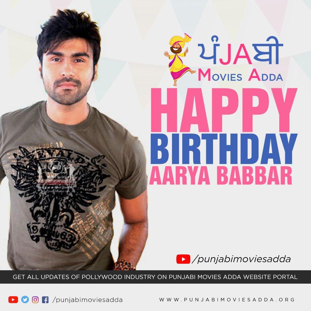 Happy Birthday Aarya Babbar.... #aaryababbar @AaryaBabbar222 #pollywood #punjabimoviesaddapic.twitter.com/pqRlyXB9K2