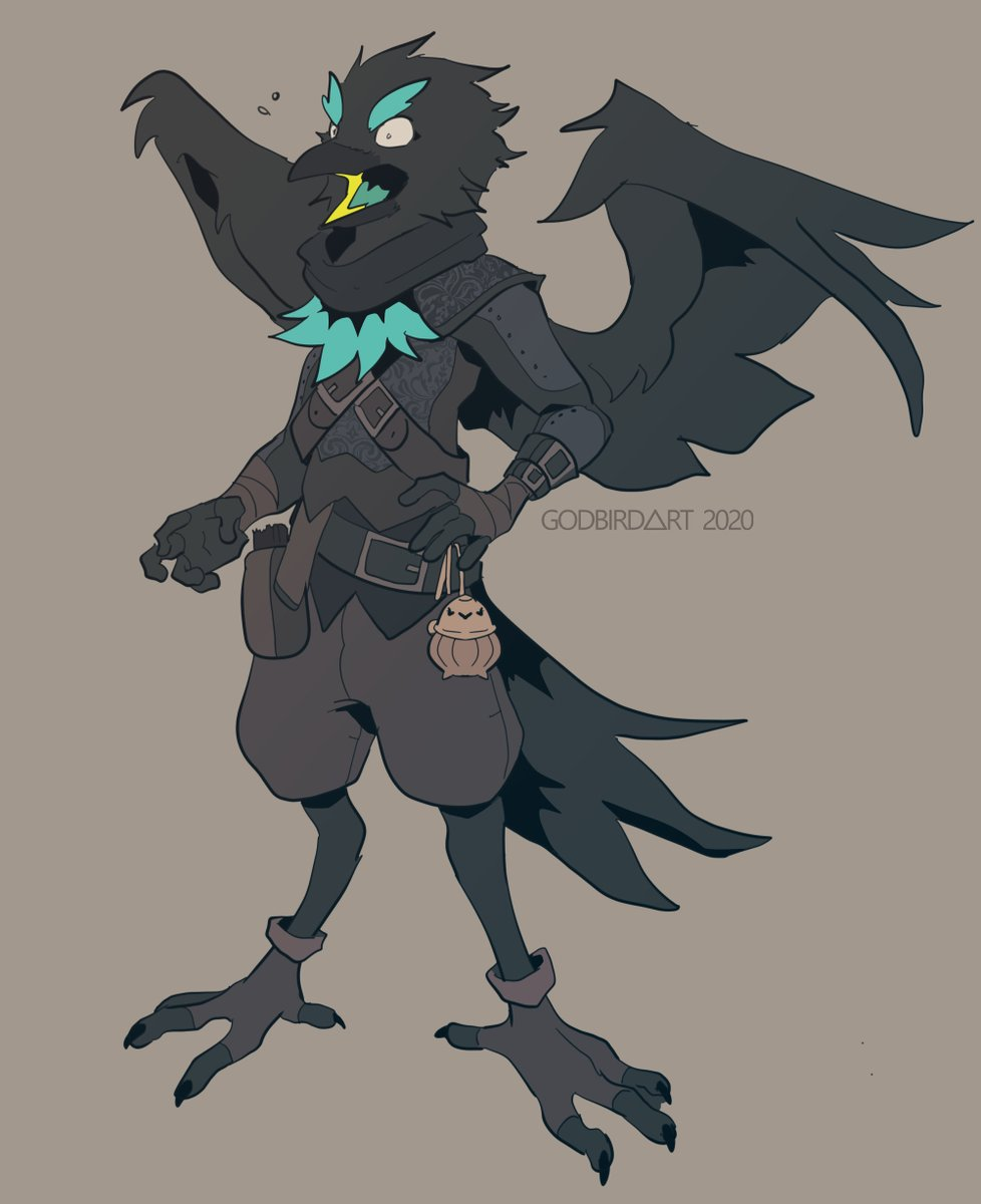 i haven't posted him publicly but I wanna show u all my first DND oc, Balzire <br>http://pic.twitter.com/tymoOoaDjx