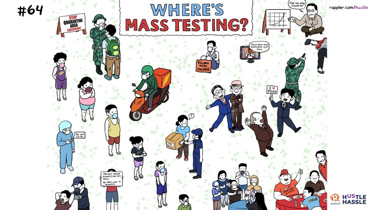 Can you find mass testing? No?   Neither can we.   http://rappler.com/hustle #Hustle #HustleEverydaypic.twitter.com/q8fhHN4Vos