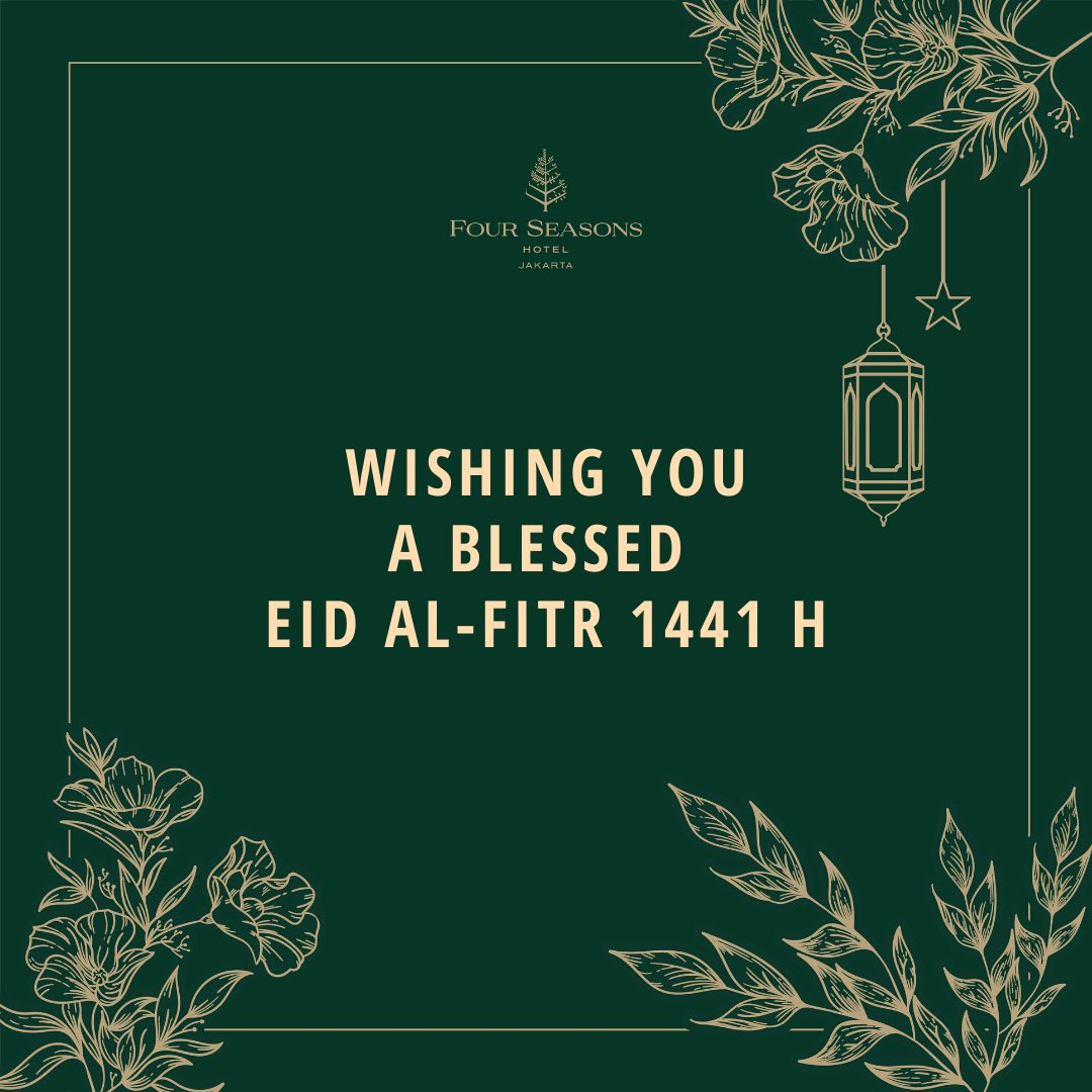 Wishing you a blessed Eid al-Fitr 1441H https://t.co/hXwHsTrecT