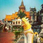Image for the Tweet beginning: #Watbuppharam #chiangmai #thailand #virtualthailand #missThailand