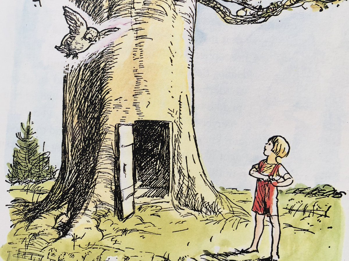 """""""Have you seen Pooh?"""" """"No."""" """"I hope he's all right,"""" said Christopher Robin. """"I've been wondering about him. I expect Piglet's with him. Do you think they're all right, Owl?"""" """"I expect so."""" """"Do go and see. Because Pooh might do something silly, and I do love him so."""" ~A.A.Milne"""