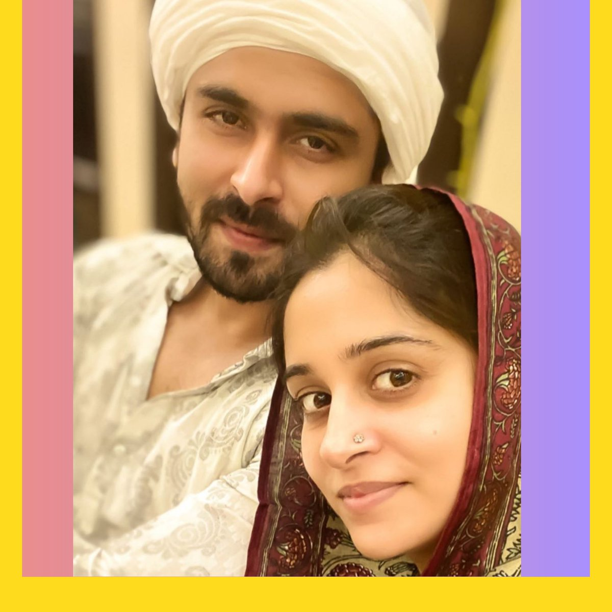 .@ms_dipika shares a picture with her husband    How many hearts for them?  #DipikaKakar #ShoaibIbrahim #Tellywood #Stayhome #Instalife #CoupleGoals #Eid #Eid2020 #EidMubarak #EidUlFitr #Ramadan #EidAlFitr #HappyEid #EidMubarak #EidMubarak2020 #PopDiariespic.twitter.com/wBjMM5DWFi