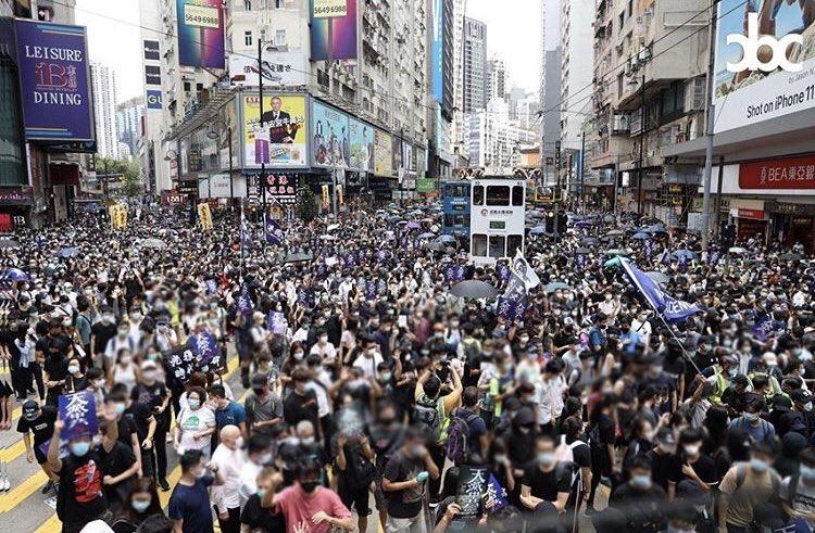 #YouCantStopUs #HongKongProtesters  Hongkonger will never give up for freedom pic.twitter.com/E2v4Fr6Eh8