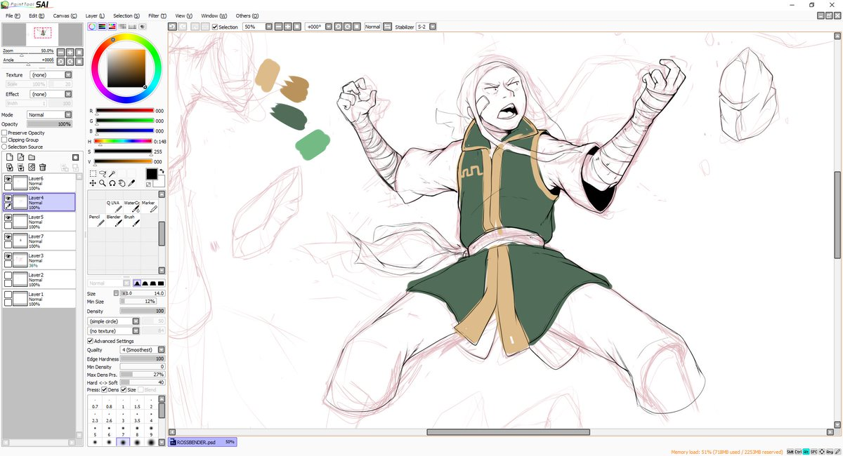 Oh look, it's a Earth Bender WIP. lol