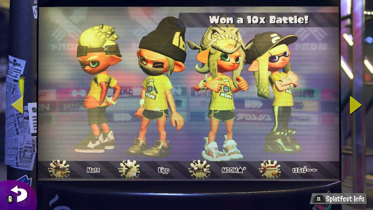 First 10x win for this splatfest!  #mayo #Splatoon2 #NintendoSwitchpic.twitter.com/8Pe1ECBHV9