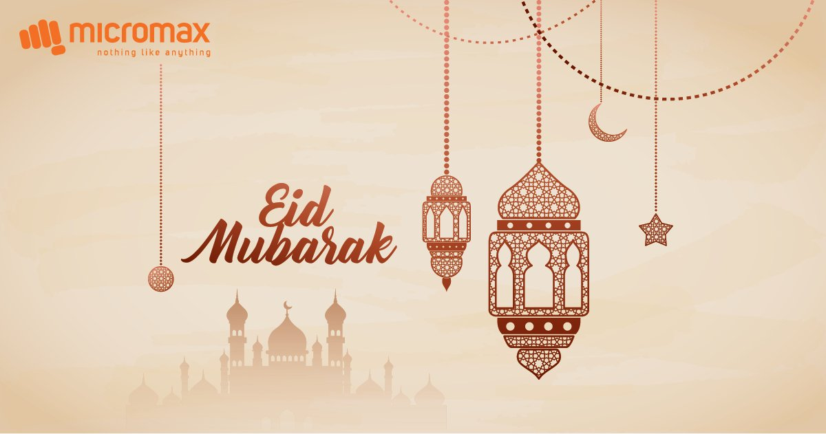 #EidUlFitrcelebrations will be different this year but we wish joy, safety and happiness for all of you. Let us all enjoy the festivities virtually and indulge in a feast of tasty delicacies.#EidMubarak https://t.co/i1IsDI8mG3