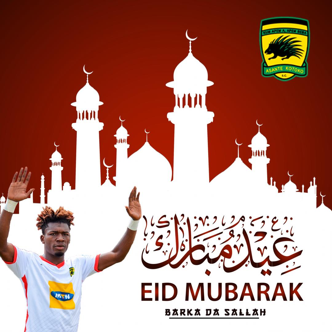 To all our Muslim players, workers, partners, and supporters across the world #AKSC #EidMubarak #LetsFightCovid19 pic.twitter.com/l1uUo7vH47