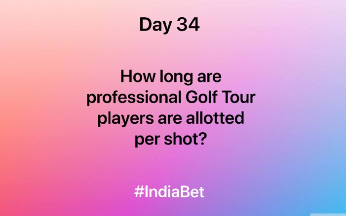 Day 34!   Answer the quiz to win 3000 IBR!   #ContestAlert #SportsQuiz #Sports #Golf #MobileGames #Gaming https://t.co/fWDZoQNjJG