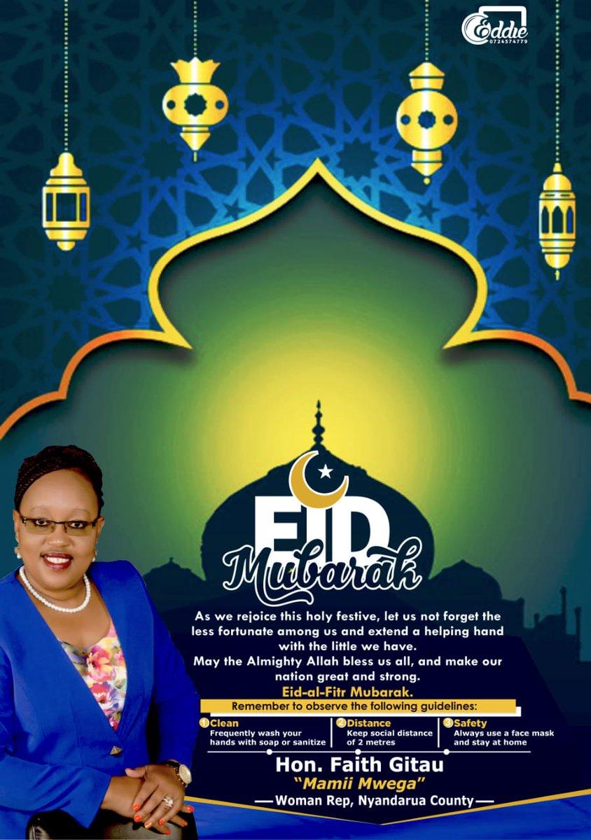 Eid Mubarak everyone! Stay safe. #EidAlFitr #staysafe