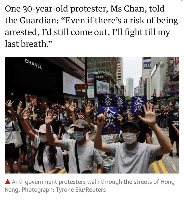 We'll fight till the end! #HongKongProtesters  #StandWithHongKong  #HongKongNeedsHelppic.twitter.com/Mj9muDJPor