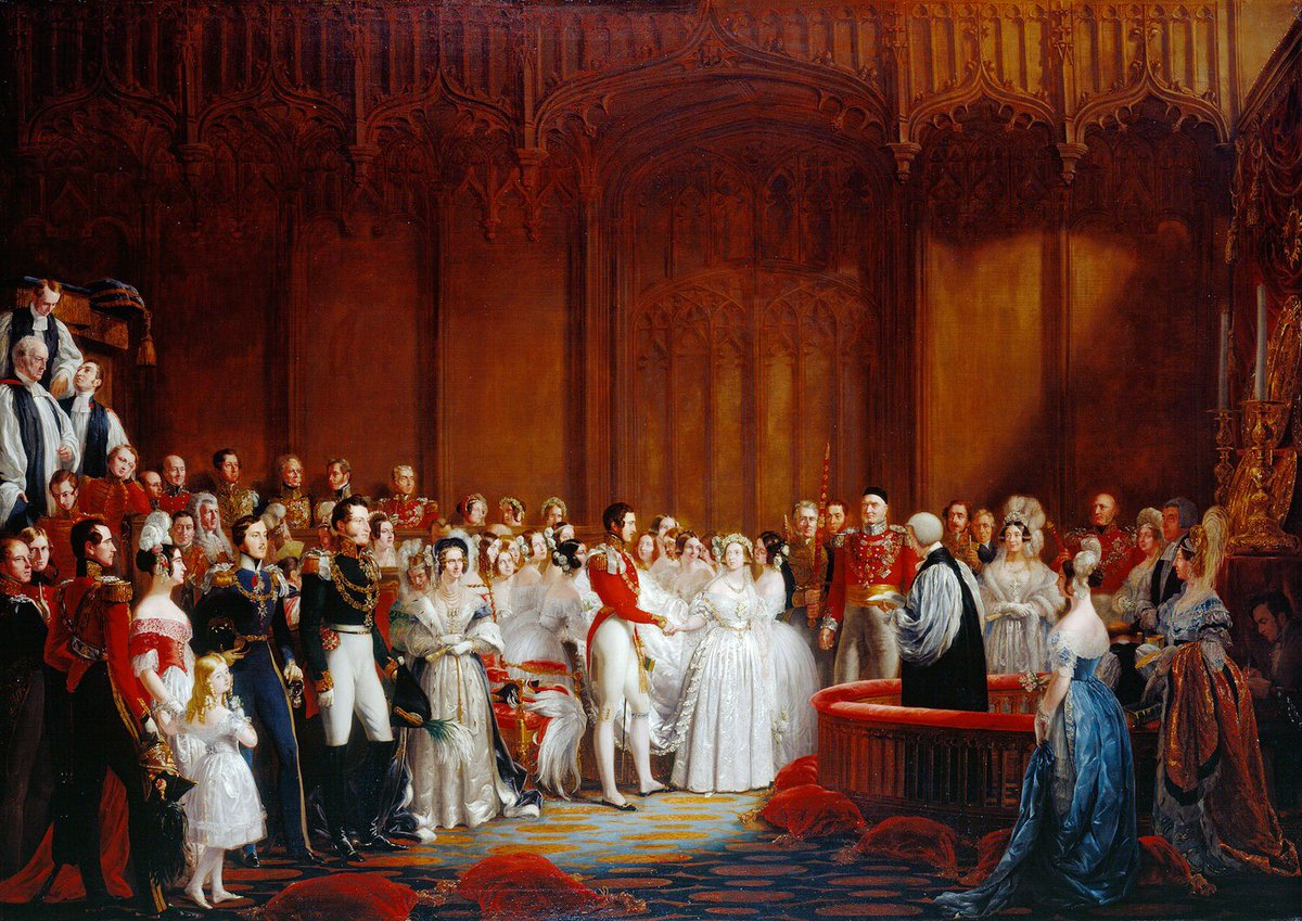 👰 At the age of 21, Victoria married Prince Albert of Saxe-Coburg Gotha. 👶 Together they had nine children, 40 grand-children and 37 great-grandchildren.