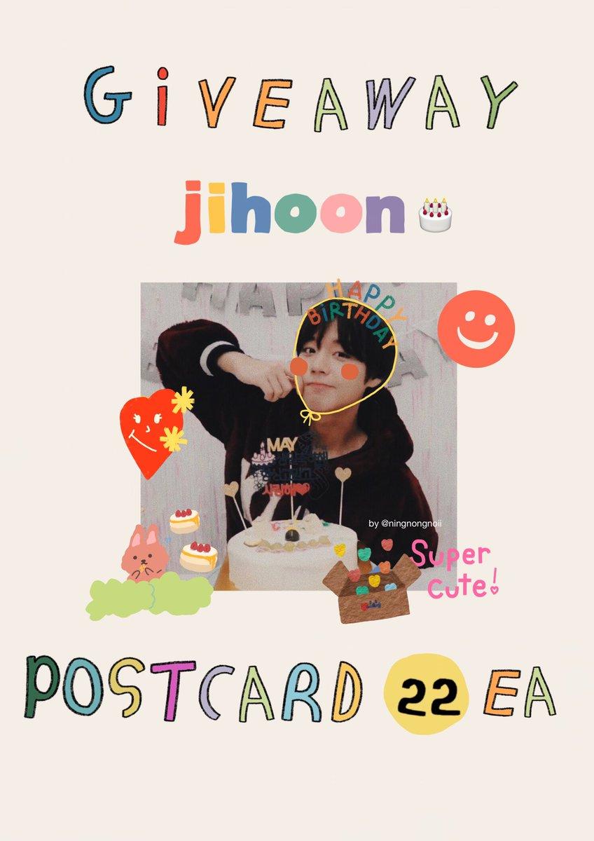 {{ pls rt }} สอบถามหน่อยค่า เนื่องจากวันเกิดจีฮุน ถ้าเราทำของแจกเป็นโปสการ์ดจะสนใจกันป่าวว ถ้ามีคนสนใจกันเยอะจะมาเปิดฟอร์มให้ค่ะ ///เสียค่าส่งเล็กน้อยน้า #HappyJihoonDay #ParkJihoon https://t.co/F9AxtLOkO0