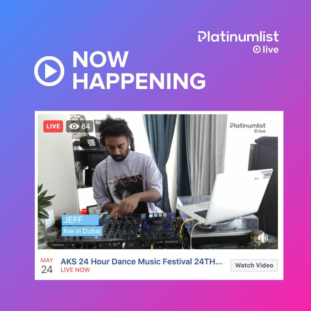 We're just getting started! 🔥🔥 @aksnights x #platinumlistlive! Tune in live! platinumlist.net/live