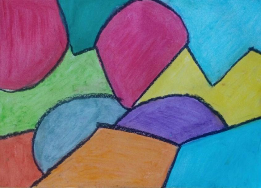 Oil pastels on A4 #art #modernart #abstract #pastelspic.twitter.com/cEaS2n1iCc