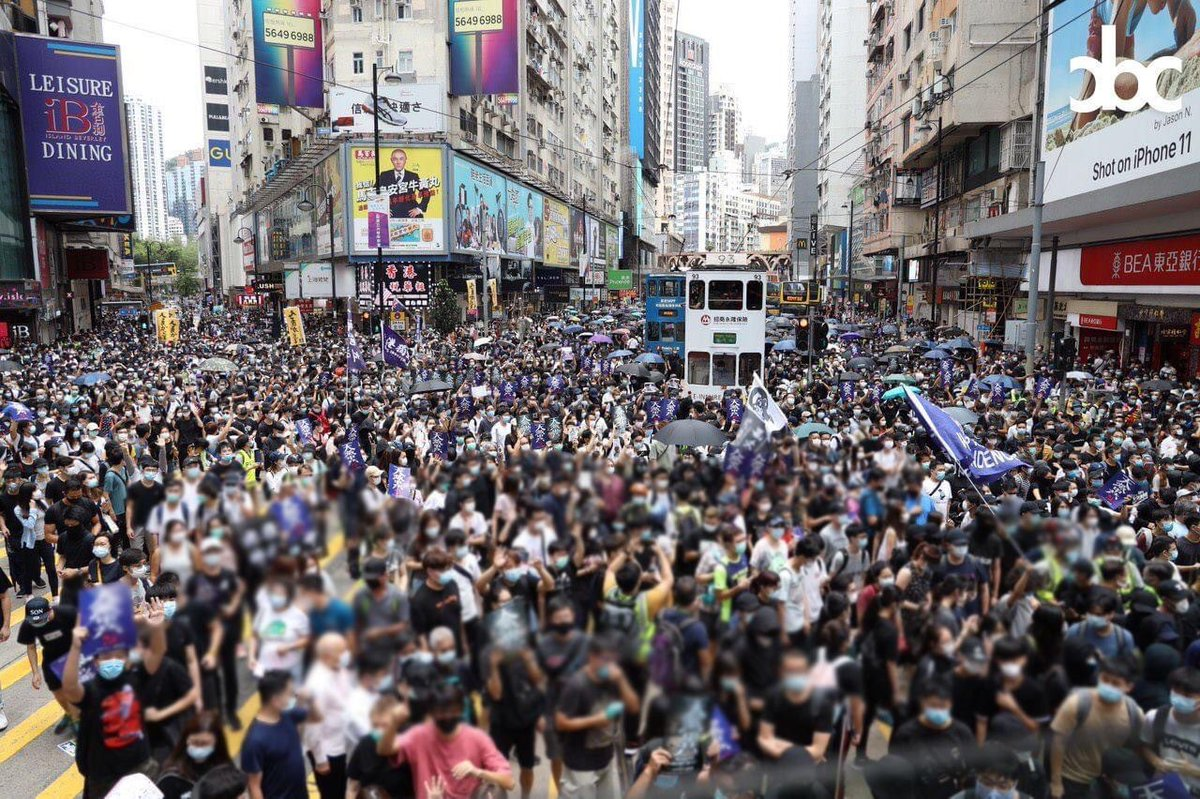 Hong Kong right now. We stand with you.