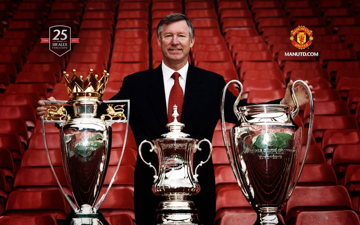 On Football Twitter, one will read that Scholes, Giggs, Keane, Vidic, Neville, Evra, Carrick and a host of others were overrated but also that Ferguson was lucky to have good players and that he was an overrated coach.  The reality is both Ferguson and our players were great. https://t.co/tGVIM75F0G