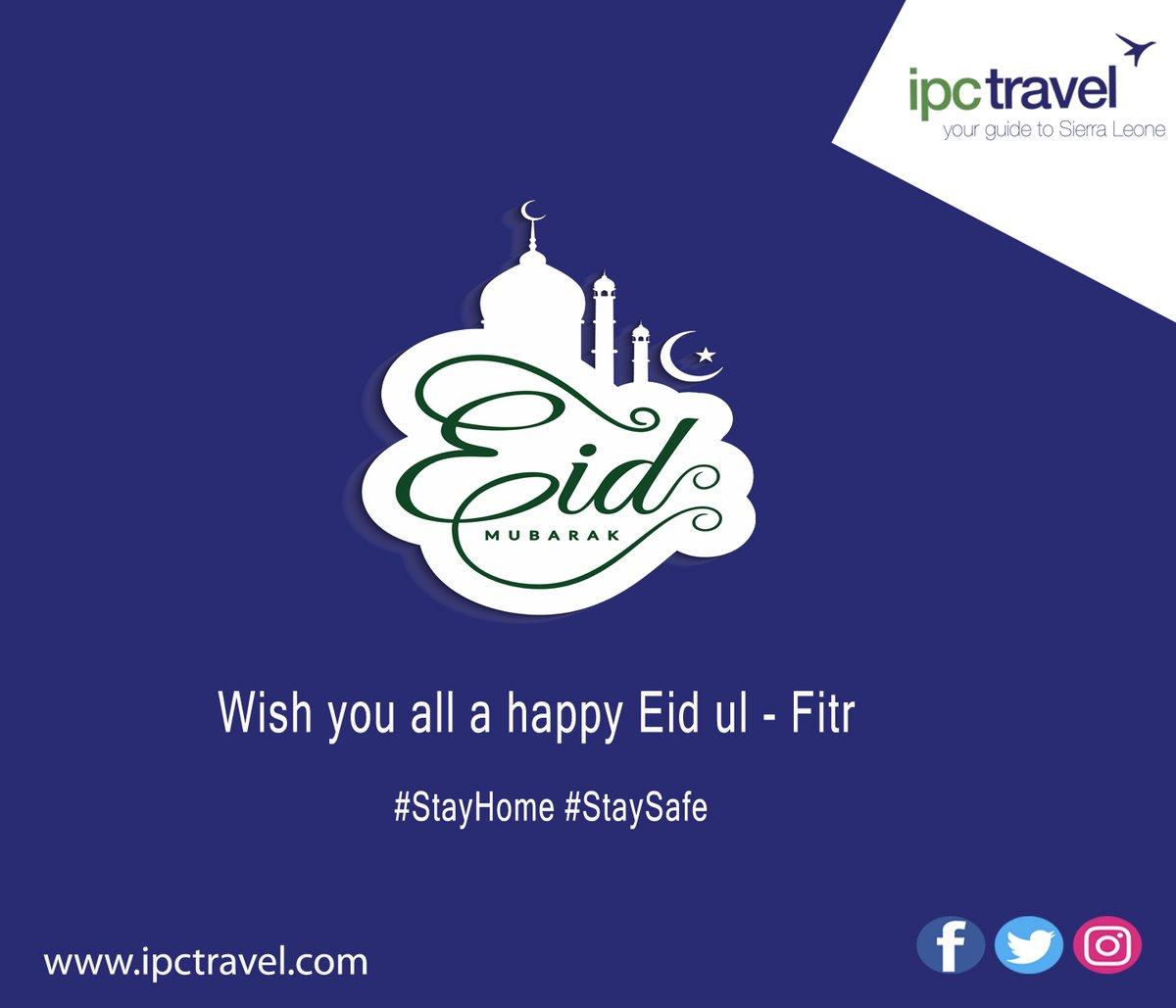 Eid Mubarak to All 🌙 May this day bring peace, happiness and prosperity to everyone  #ipctravel #yourguidetosierraleone #yourguidetotheworld #eidmubarak #eidulfitr #ramadankareem #staysafe #stayhome #sierraleone  #SaloneTwitter https://t.co/LVSQGPNWKG