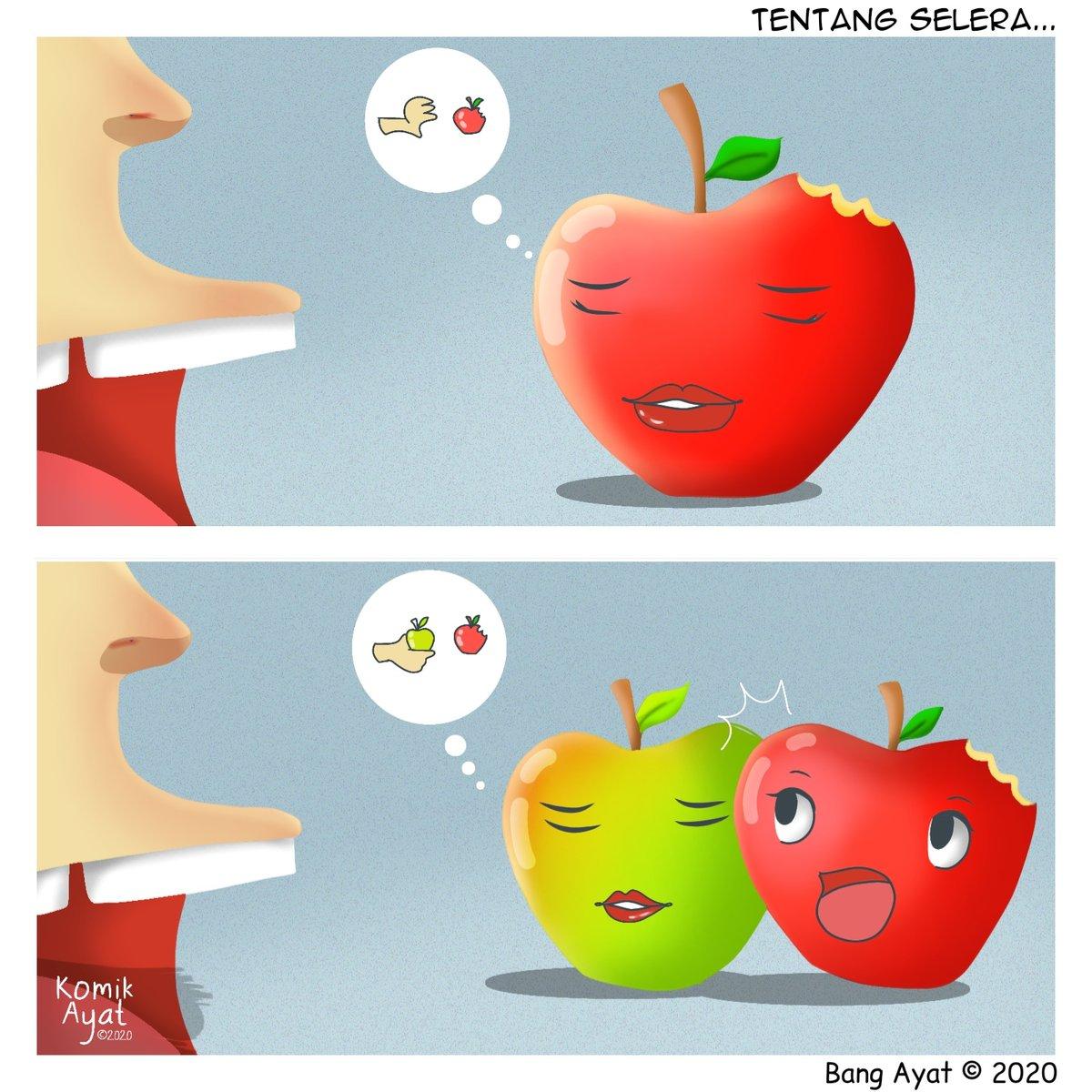 #kisahvisualkeseharian Asah otak dulu napa!  #komikayat #urangbanjar #komikstrip #iqomic #komikinajah #komiklokalpic.twitter.com/exFofg7Tgu