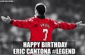 Happy Birthday #kingEric still my favorite player #mufc https://t.co/Cwh3TLlGKT