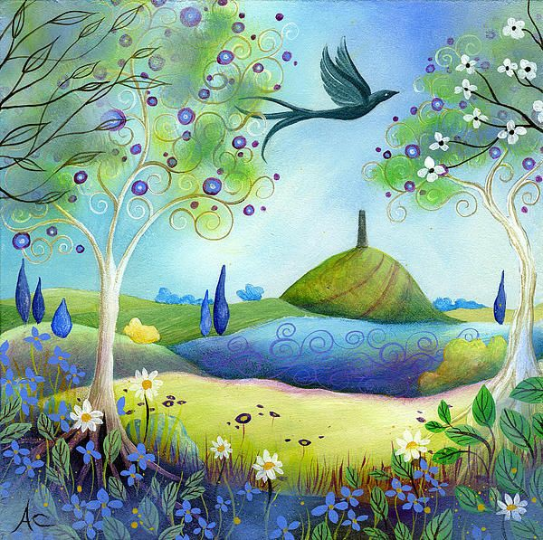 Good morning/afternoon/evening my friends  Beautiful and peaceful Sunday everyone....  #painting #wallart #spring #FineArtAmerica  ~ Spring Light ~ by Amanda Clarkpic.twitter.com/Go5cehNrPZ