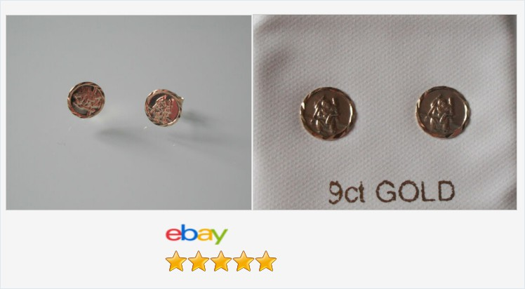 Brand New 9ct Gold Round St.Christopher Disc Stud Earrings - boxed | eBay #9ct #gold #st.christopher #disc #stud #earrings #jewellery #finejewelry #gifts #giftideas #giftsforher #jewelry #jewelrylover #accessories #staysafe #religious #giftshop #fashion https://www.ebay.co.uk/itm/313055775908…pic.twitter.com/cEyKUNJhre