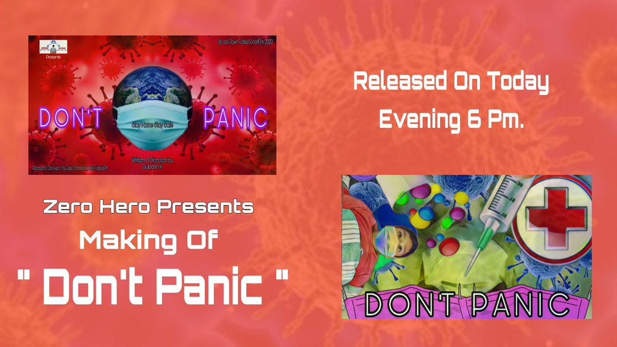 #Making Of Don't Panic Released On #ZeroHero YouTube Channelpic.twitter.com/LhU7NSuh27